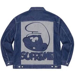 Supreme - Supreme Smurfs Denim Trucker Jacket