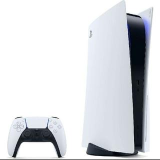 プレイステーション(PlayStation)のSONY PlayStation5 ディスクドライブ搭載モデル 本体(家庭用ゲーム機本体)