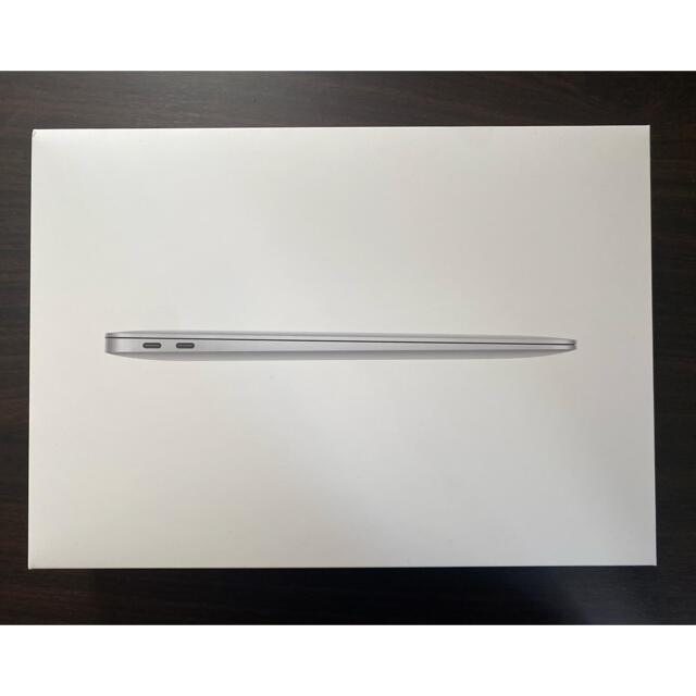 Mac (Apple)(マック)のMacbook Air M1 メモリ16GB SSD 256GB シルバー 美品 スマホ/家電/カメラのPC/タブレット(ノートPC)の商品写真