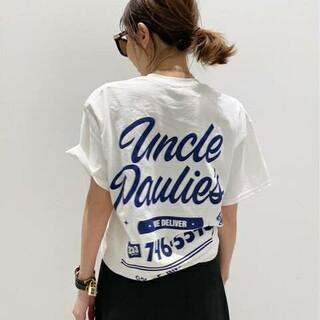 L'Appartement DEUXIEME CLASSE - 新品未使用タグ付 アパルトモン アンクルポーリーズ ポケット Tシャツ ホワイト