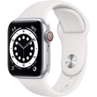Apple Watch - 【40mm / GPS + Cellularモデル】Apple Watch 6