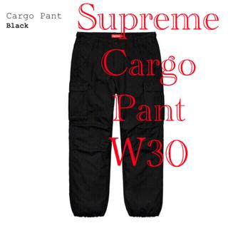 Supreme - 【30】 Supreme Cargo Pant Black 2020ss