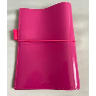 ファイロファックス(Filofax)の★ファイロファックス★バイブルサイズ 6穴 手帳 ピンク(手帳)