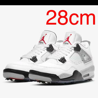 NIKE - NIKE AIR JORDAN 4 G White Cement  ジョーダン4