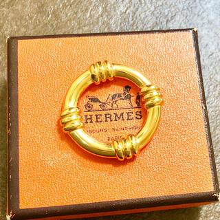 エルメス(Hermes)の正規品 エルメス スカーフリング ブーエ ゴールド 金 マリン リング 浮き輪 (バンダナ/スカーフ)
