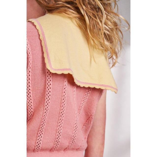 Caramel baby&child (キャラメルベビー&チャイルド)のmisha and puff  Texture Scout Vest キッズ/ベビー/マタニティのキッズ服女の子用(90cm~)(ニット)の商品写真