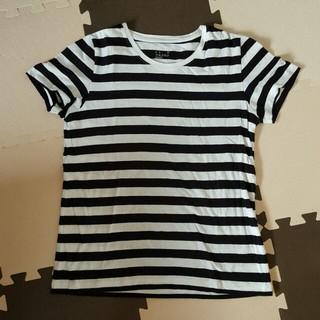 ムジルシリョウヒン(MUJI (無印良品))の無印良品 ボーダーL(Tシャツ(半袖/袖なし))