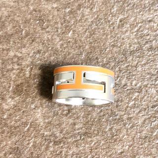 エルメス(Hermes)の正規品 エルメス 指輪 ムーブアッシュ シルバー オレンジ SV925 リング2(リング(指輪))