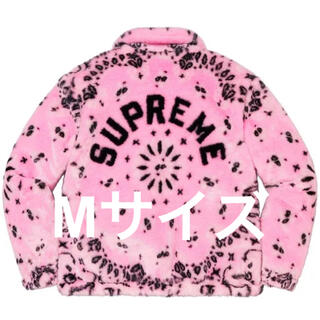 Supreme - M Supreme Bandana Pink Bomber Jacket 本物