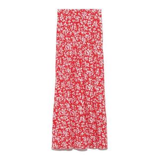 FRAY I.D - 極美品 定価1.7万 FRAY I.D ナローフレアフラワースカート