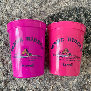 SNOOPY - Hawaii限定 日焼けスヌーピー プラスチックカップ