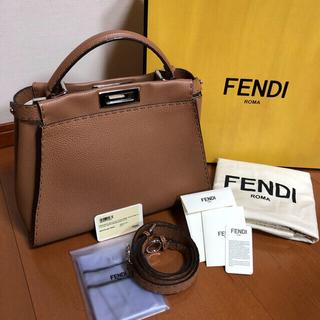 FENDI - 最終お値下げ!【美品】フェンディ  ピーカブー レギュラー セレリア