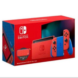 ニンテンドースイッチ(Nintendo Switch)のNintendo Switch マリオレッド×ブルー (家庭用ゲーム機本体)