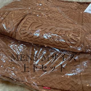gelato pique - ジェラートピケ  ロータス  プルオーバー パンツ  上下セット メンズ M
