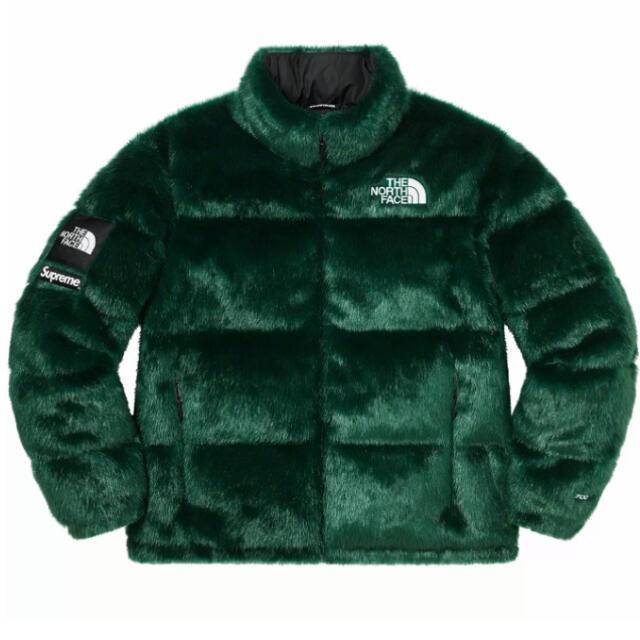 Supreme(シュプリーム)のSupreme The north face Faux Fur Nuptse メンズのジャケット/アウター(ダウンジャケット)の商品写真