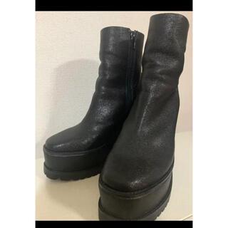 エヴリス(EVRIS)のEVRIS エブリス 厚底ブーツ ショートブーツ 人気(ブーツ)