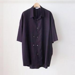 SUNSEA - 【THEE】オープンカラーシャツ