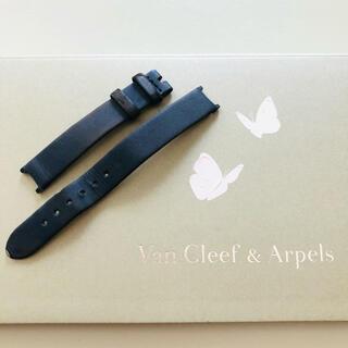 Van Cleef & Arpels - ヴァンクリーフアンドアーペル アルハンブラ ストラップ サテン ベルト 本革