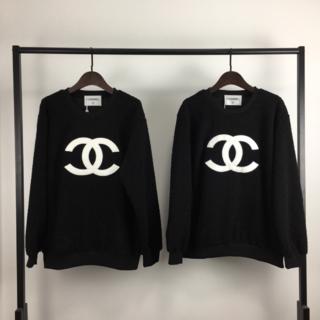 CHANEL - シャネルクルーネックテディベルベットスウェットシャツ