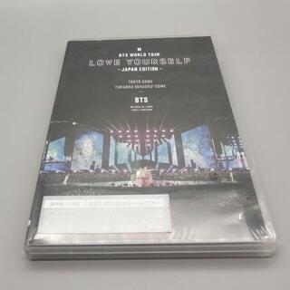 防弾少年団(BTS) - 未開封★BTS WORLD TOUR 'LOVE YOURSELF DVD通常盤