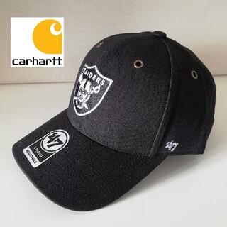 カーハート(carhartt)のカーハート レイダース 47 キャップ ブラック 新品(キャップ)