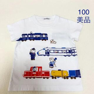 familiar - 【美品】familiar  Tシャツ 100 ファミリア