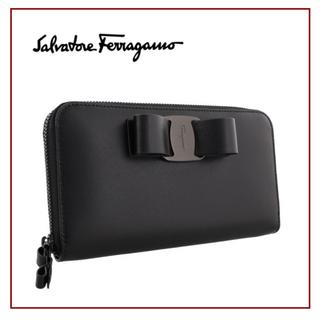 Salvatore Ferragamo - 【 新品 未使用 ♡】フェラガモ  リボン 財布 長財布