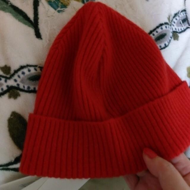 Ron Herman(ロンハーマン)の★ロンハーマン別注デミリーニット帽子★ レディースの帽子(ニット帽/ビーニー)の商品写真