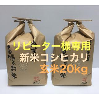 リピーター様専用 無農薬コシヒカリ玄米◆コメントいただければ専用出品致します!(米/穀物)