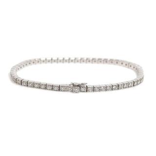 Cartier - 正規品CartierカルティエK18WGラニエールダイヤブレス☆15☆100万