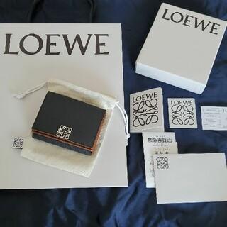 LOEWE - 完売品【新品】ロエベ アナグラム ロゴ 三折財布 6cc