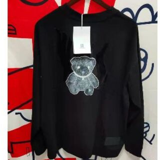 PEACEMINUSONE - WE11DONE  3M  リフレクター  Tシャツ   ブラック M