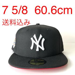 ニューエラー(NEW ERA)のNew Era ツバ裏レッド Cap 5/8 ニューエラ ヤンキース キャップ(キャップ)