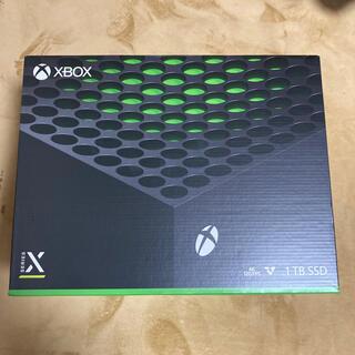 エックスボックス(Xbox)の【新品】Microsoft Xbox Series X(家庭用ゲーム機本体)