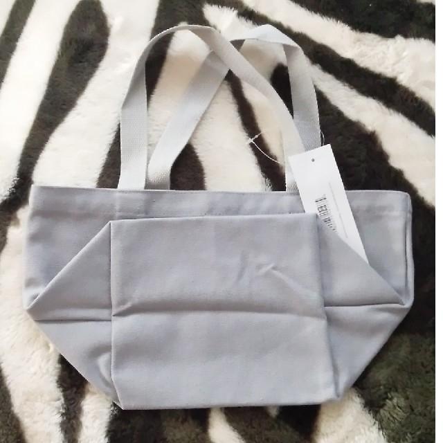 DEAN & DELUCA(ディーンアンドデルーカ)のDean&Deluca ミニトートバックS グレー レディースのバッグ(トートバッグ)の商品写真