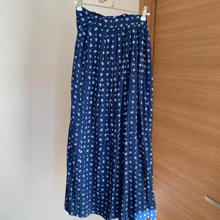 ロキエ(Lochie)のEuro vintage 花柄スカート&ウクライナチュニック(ロングスカート)