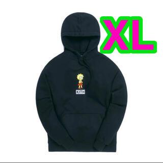 シンプソン(SIMPSON)のKith The Simpsons Lisa Logo Hoodie XL(パーカー)