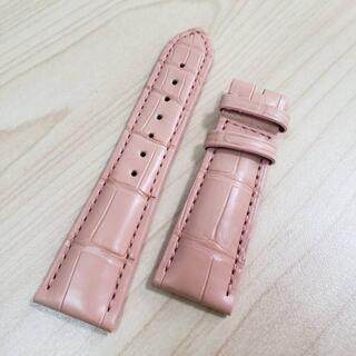 ゼニス(ZENITH)の【M516】ZENITH ゼニス 腕時計 レザー ベルト ピンク 未使用(腕時計)