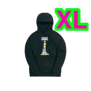 シンプソン(SIMPSON)のKith The Simpsons Family Stack Hoodie XL(パーカー)
