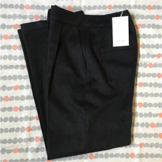 ピュアルセシン(pual ce cin)のpual ce cin Du noirパンツ(チャコールグレー)✧新品未使用✧(カジュアルパンツ)
