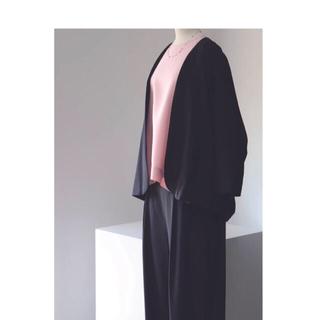 ヤエカ(YAECA)のらくだ様専用✴︎woven robe short✴︎アーツ&サイエンス(ノーカラージャケット)