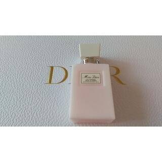 Christian Dior - [新品未使用]ミスディオールボディミルク75mI&サンプル