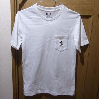 UNIQLO - ディズニー ミッキーのTシャツ サイズXS <a638>