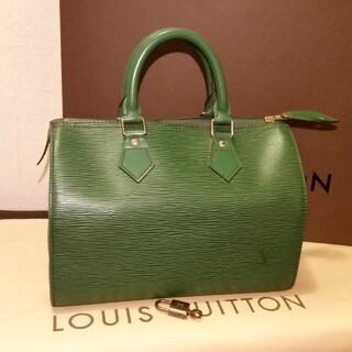 LOUIS VUITTON - 綺麗、ハンドバッグ、緑エピ
