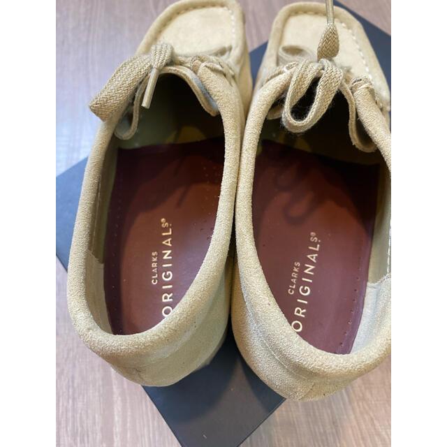 Clarks(クラークス)の/mime様専用/ Clarks Wallabee ワラビーメープルスエード レディースの靴/シューズ(スリッポン/モカシン)の商品写真