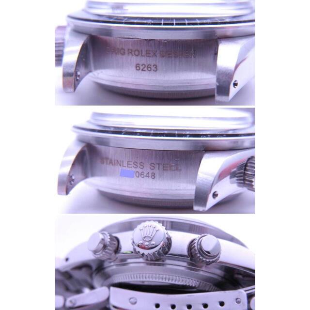 ROLEX(ロレックス)の6263 ビンテージモデル BIG黒ダイヤル 7750 修理用 部品一式 メンズの時計(腕時計(アナログ))の商品写真