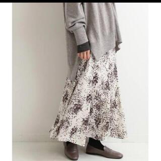 イエナ(IENA)のIENA 2020 抑揚プリントマーメイドスカート 34(ロングスカート)
