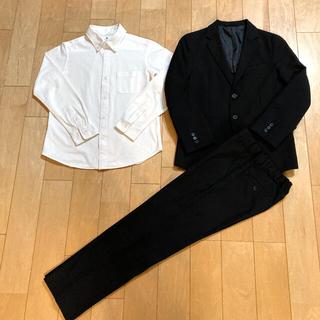 GU - GU スーツ UNIQLO シャツ 140 男の子セット