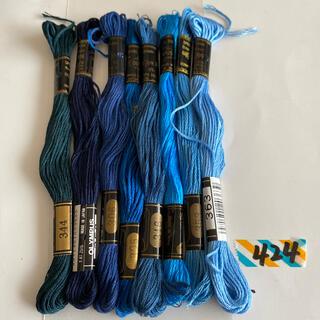 オリンパス(OLYMPUS)のオリムパス刺繍糸424(生地/糸)