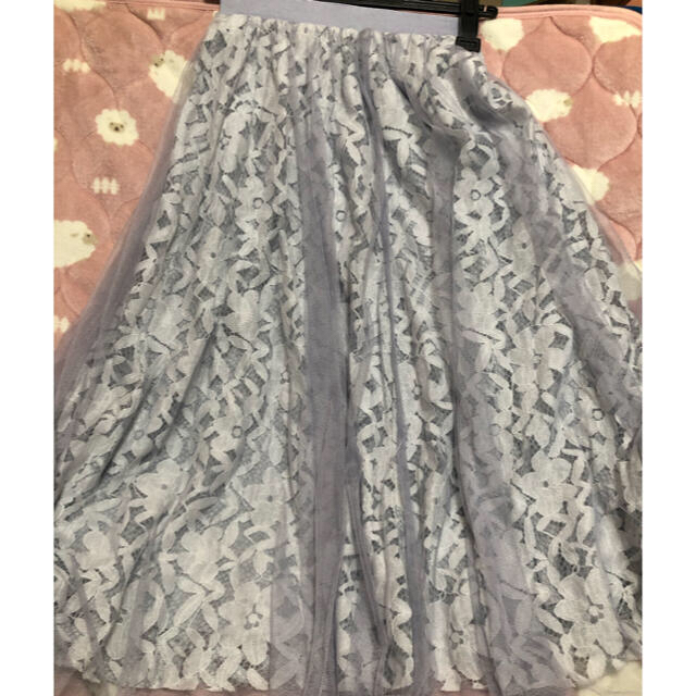 PROPORTION BODY DRESSING(プロポーションボディドレッシング)のプロポーションボディドレッシング チュールスカート レディースのスカート(ロングスカート)の商品写真